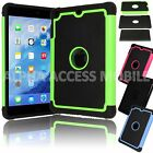 Protective Shockproof Hybrid Rugged Hard Case Cover for Apple iPad Mini 1 2 3 4