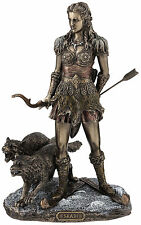 Skadi Norse Goddess of Winter, Hunt and Mountains home decor figure statue