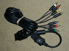 MICROSOFT XBOX 360 S-VIDEO COMPONENT COMPOSITE TV AV CABLE LEAD ADAPTER RCA HDTV