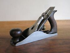 Antigue Vintage Stanley No. 4 Type 6 (1888-1892) Smooth Woodworking Plane Tool