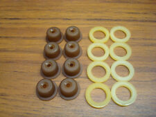 Fuel Injector Pintle Caps & Spacers Set of 8 Bosch or Denso EV1 Mustang, BMW