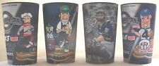 Lot of 4 2015 Milwaukee Brewers Hologram Cups with Jonathan Lucroy, Sausages