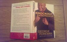 Knockout Entrepreneur SIGNED George Foreman Hardback Book U.S Edition