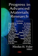 Progress in Advanced Materials Research by Nova Science Publishers Inc...