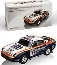 True Scale Miniatures 121807r PORSCHE 959 RESINA RALLY AUTO WINNER DAKAR 1986 1:18