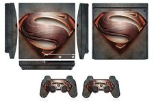 Skin Sticker Cover for PS3 PlayStation 3 Slim and 2 controller skins Q258