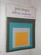 PSICOLOGIA DELL ETA EVOLUTIVA Tev 1980 libro saggistica manuale corso di