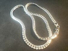 Sterling, marked 925 silver, men's / ladie's 5mm wide, 18inch necklace jewellery