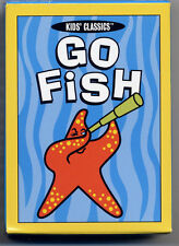 US Games CCGF42 Go Fish Kids Classic Playing Cards 42 Deck Sea Creatures Age 4Up