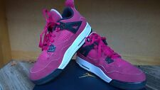 NIKE Girls Air Jordan Retro IV 4 Voltage Cherry Pink Valentine Day size 5.5Y