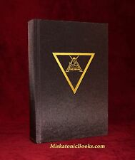 SCORPION GOD - Mark Alan Smith Signed Limited Grimoire Black Magic, Primal Craft