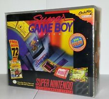 2 Piece SNES BIG BOX PROTECTOR SUPER NINTENDO EARTHBOUND Plastic Box Case