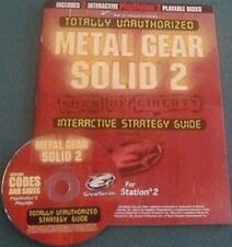 NEW Metal Gear Solid 2 Strategy Guide for Playstation 2 PS2