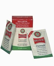 Ballistol Universal Oil Rifle Shooting 10x Cloths