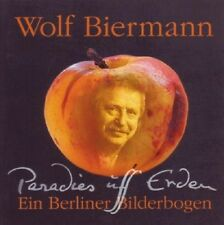 WOLF BIERMANN - PARADIES UFF ERDEN  CD NEU