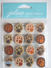 JOLEE'S BOUTIQUE STICKERS - ANIMAL TRACKS REPEATS paw prints