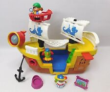 Fisher Price Little People Pirate Ship With Sounds And Pirate Figures