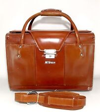 NIKON FB-11 LEATHER COMPARTMENT CASE!! EXCELLENT CONDITION!!