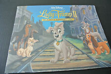 Disney Store Lady And The Tramp II Scamp's Adventure Lithograph