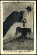 ROMANIA HUNGARY 1935 UNITARIAN CHURCH+  PULPIT Erzsébetváros Dumbraveni SB