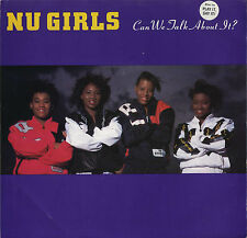 NU GIRLS Can We Talk About It (1988 US Double Side A Picture Sleeve Promo 7inch)