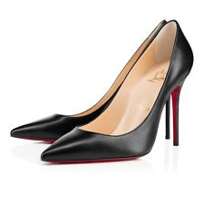 CHRISTIAN Louboutin | DECOLLETE 554 | NERO | UK 5.5 | EU 38.5 | rrp $675 | tacco