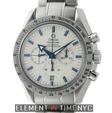 Omega Speedmaster Broad Arrow Chronograph Steel 42mm White Dial 3551.20.00 Auto