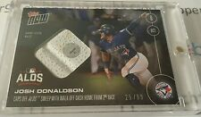 Josh Donaldson RELIC Base Walkoff #'d 25/99 2016 Topps NOW Card #560B Blue Jays