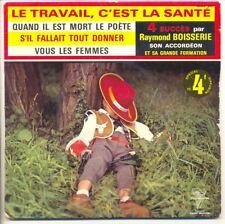"""Raymond BOISSERIE MUSETTE 45T 7"""" EP 4 Succès 4564"""