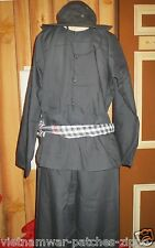 VIET CONG AO BABA VC suit  _  BLUE SCARF  _ Fighters' uniform , EXTRA SCARF