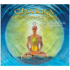 "Music CD: ""Chakra Meditations and Tones"" by Dudley and Dean Evenson"
