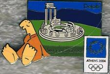 LE 2004 Athens Olympic Mascots See You in Greece Delphi Pin