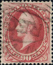 #191 1879 90c AMERICAN BANK NOTE CO. ISSUE USED--VF/XF LITE CANCEL