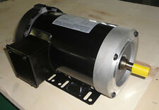 CEM Rolled Steel AC Motor 1HP 3600RPM 56C Removable Feet 3Phase Fan-cool TEFC