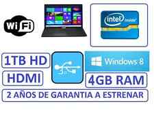 "PORTATIL ASUS 15"" INTEL 1 TB grafica HDMI  1756mb WINDOWS WIFI"