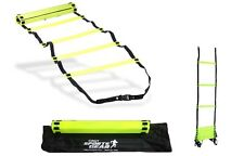 New Sports 8 Metre Speed Agility Training Ladder Flat Rungs Outdoor Fitness UK