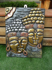 Balinese Buddha Panel / Plaque wall hanging