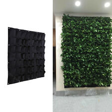 56 Pocket Wall Hanging Garden Planter Box Indoor Outdoor Vertical Herb Pot Decor
