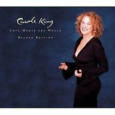 Carole King Love Makes The World Deluxe Edition 2-CD NEW SEALED 2007 ECD