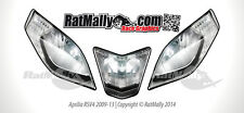 WSB STYLE HEADLIGHT STICKERS - APRILIA RSV4 2009-2013 - RACE TRACK GRAPHICS