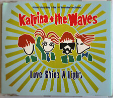 "EUROVISION : KATRINA + THE WAVES - MAXI CD ""LOVE SHINE A LIGHT"""