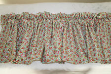 CALICO Floral WIDE VALANCE Window Curtain Baby Nursery Childrens Girl Bedding