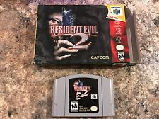 Resident Evil 2 Nintendo 64 N64 In Box - Tested - Works - Clean