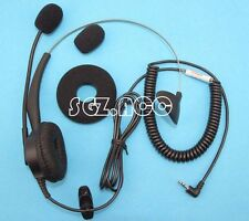 Panasonic Headset For DECT Cordless Handsets with 2.5mm Headset Socket KX-TCA430