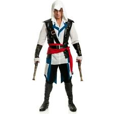 Cut Throat Pirate Assassin's Creed IV Black Flag Edward Kenway Costume Cosplay L