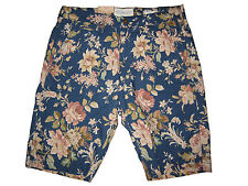 Ralph Lauren Denim and Supply Blue Pink Floral Vintage Polo Beach Shorts 30
