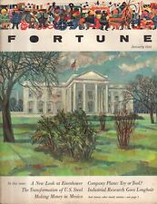 1956 Fortune January - U S Steel; Mack Trucks; Consolidated electrodynamics