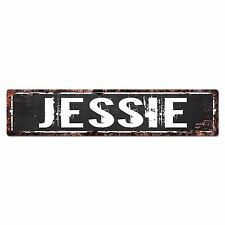 SFND0235 JESSIE MAN CAVE Street Chic Sign Home man cave Decor Gift Ideas