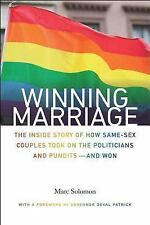 Winning Marriage : by Marc Solomon (2014, Hardcover)