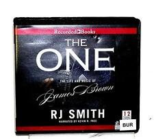 BOOK/AUDIOBOOK CD R.J. Smith Biography THE ONE THE LIFE AND MUSIC OF JAMES BROWN